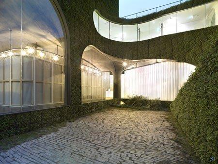 Вертикальные сады в Сеуле