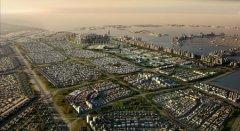 Waterfront City - завершена разработка генерального плана города