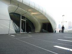 Channel Mobile Art - выставочный павилион от Захи Хадид