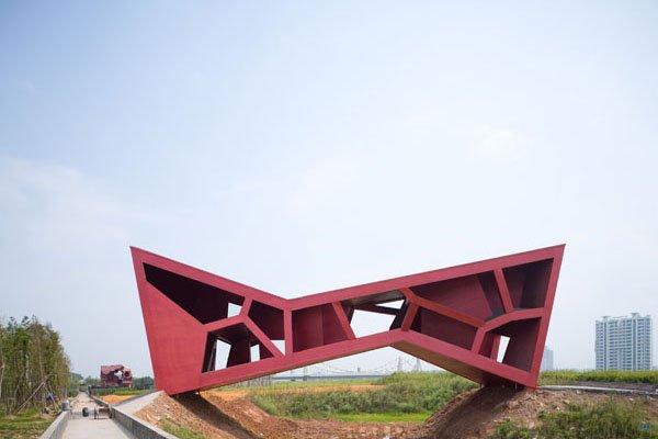 Проект моста музея был реализован