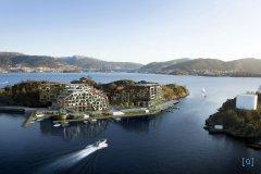 Архитектура и рельеф. Проект застройки острова Askøy в Норвегии
