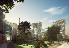 Frasers Broadway - экологическая архитектура по австралийски