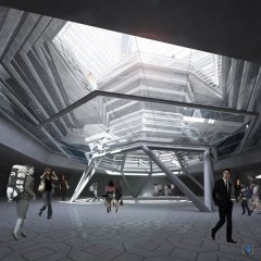 Новый проект здания Мэрии в Сеуле