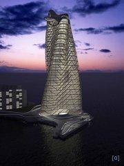 Strata Tower - проект новой башни в ОАЭ