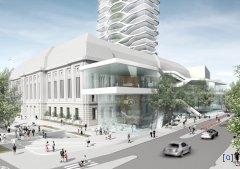Реконструкция здания Почты в Роттердаме