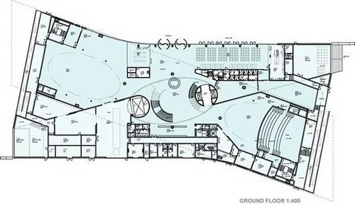 проект нового здания музея Museum of Liverpool