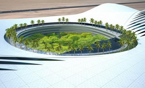 проект гостиницы «KOBRA-HOTELL» в ОАЭ