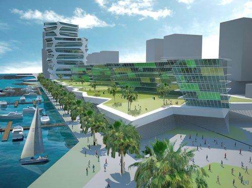 Проект набережной в Дубаи