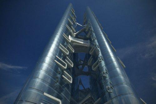 Экспоцентр в Москве от Захи Хадид