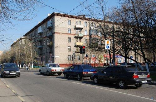 Градостроительное исследование №2. Ансамбль жилых домов второй половины 50-х годов в Люблино.