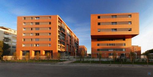 Трио из Любляны. Целостность идеи в оранжевой отделке.