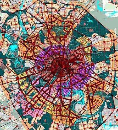 Генеральный план города москвы олег
