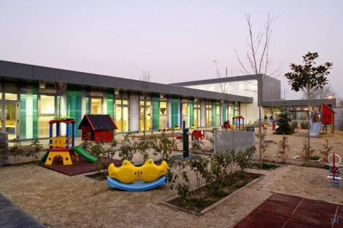 Современные школьные здания. №1 Начальная школа La Corita в Вальдеморо, Мадрид, Испания